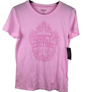 New Juicy Couture graphic monogram tee shirt